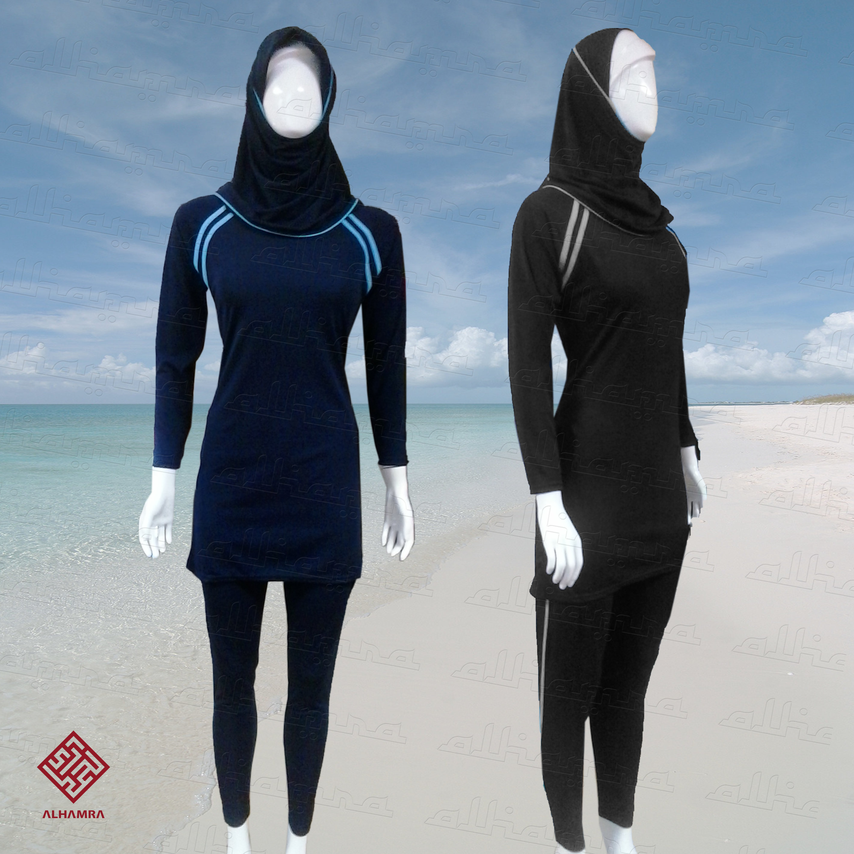 1563e07a187e8 AlHamra AL2265 Modest Burkini Swimwear Swimsuit Muslim Islamic Sportwear -  Alhamra Swimwear