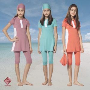 33e82f3d98e9e AlHamra AL5061 Modest Burkini Teenage Swimwear Sportswear. £26.95. Add to  Wishlist loading