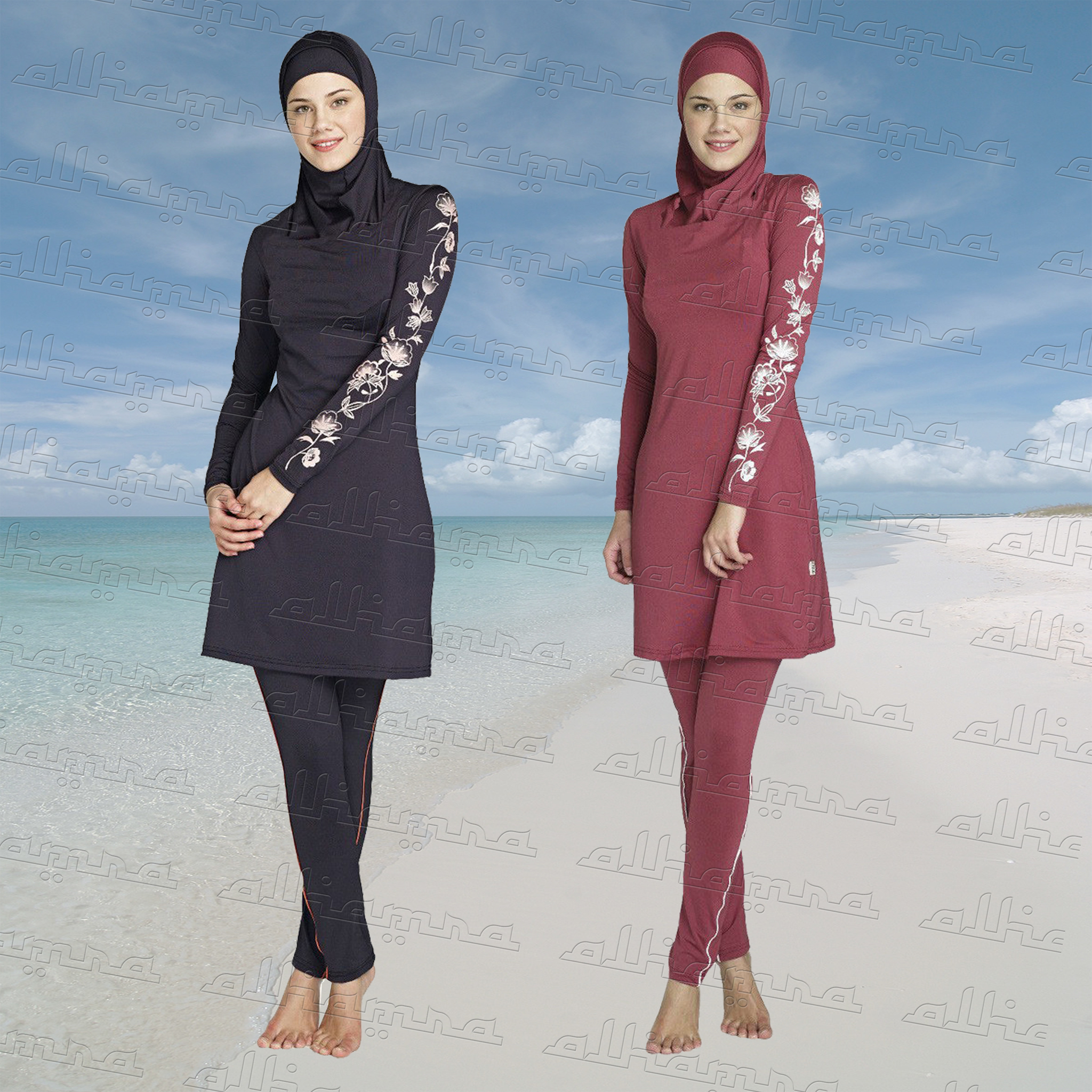 af386a9f36 AlHamra Lale Full Cover Modest burkini Swimwear sportswear - Alhamra ...